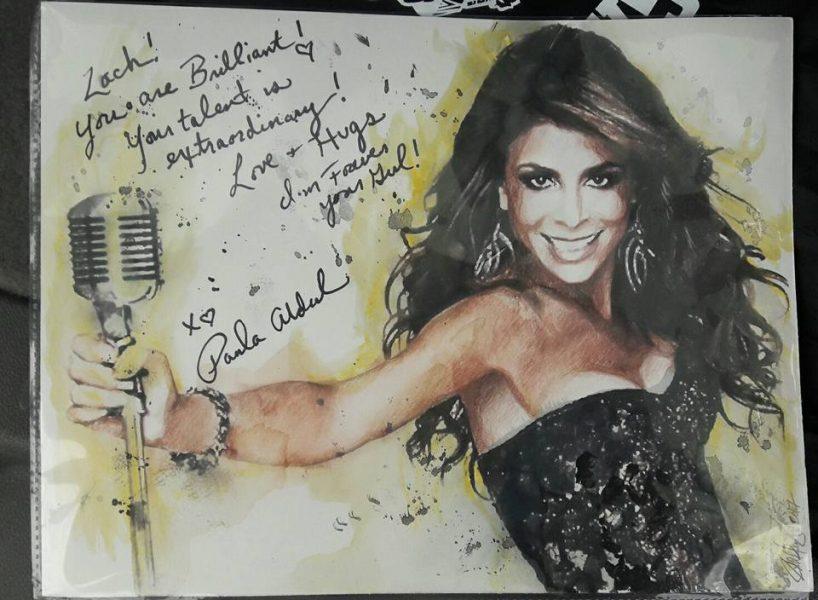 Paula Abdul Art