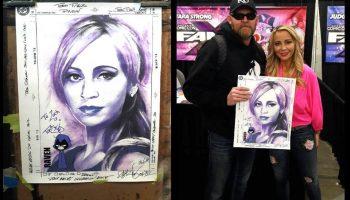 Celebrity Art Resume